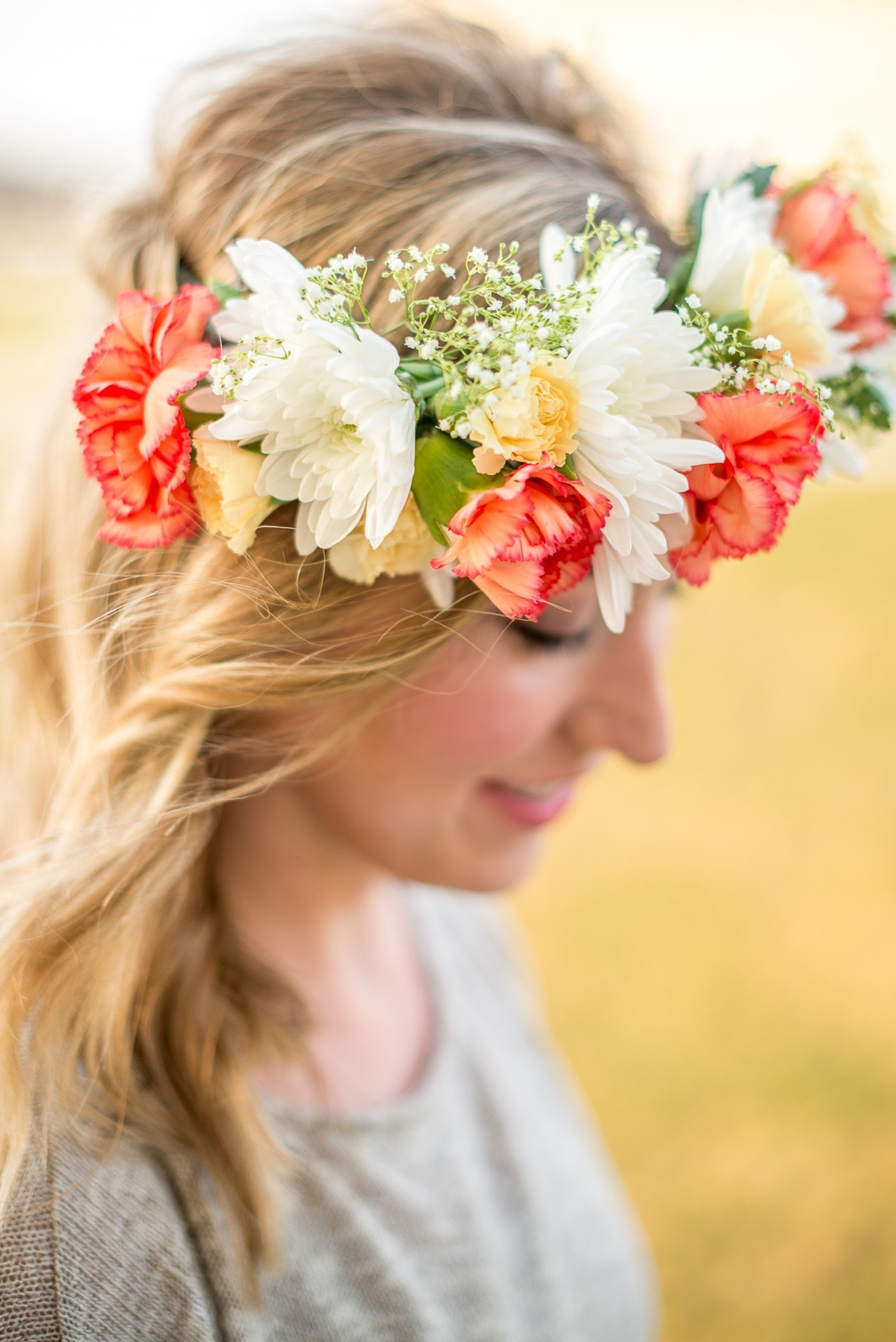 How to DIY a Spring-Worthy Floral Crown