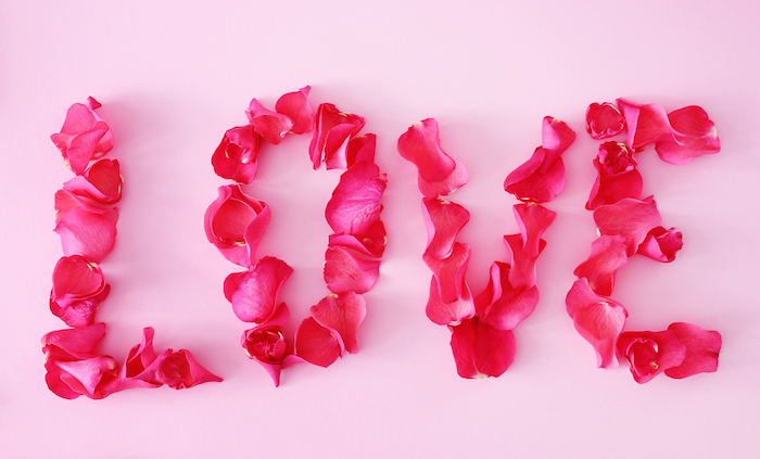 13 romantic ways to use rose petals flower explosion blog for Rose decorations for bedroom