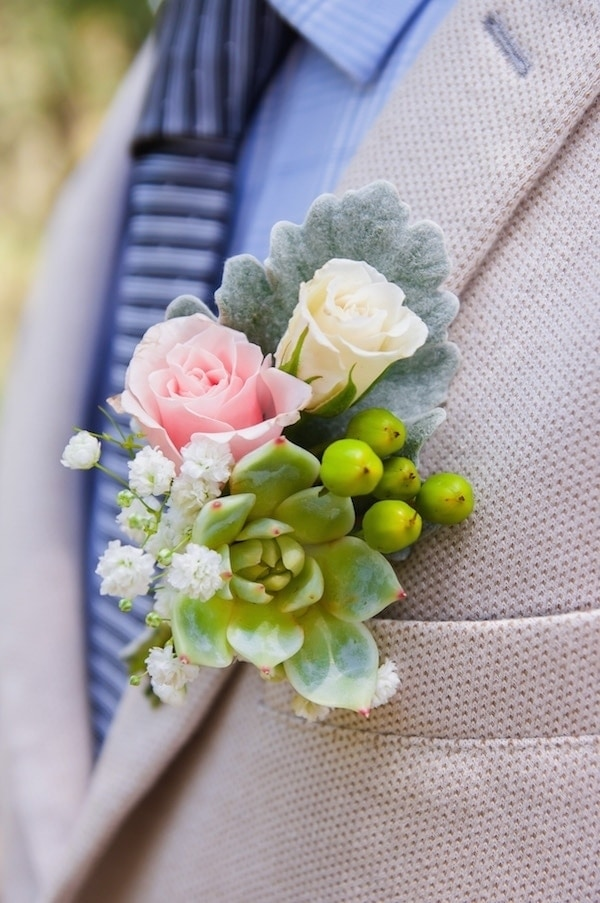 Introducing Our New Wedding Boutonnière Collection